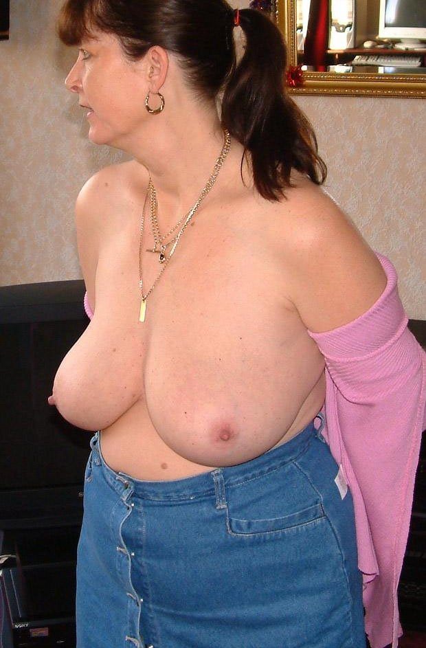 Petite blonde with huge tits #1
