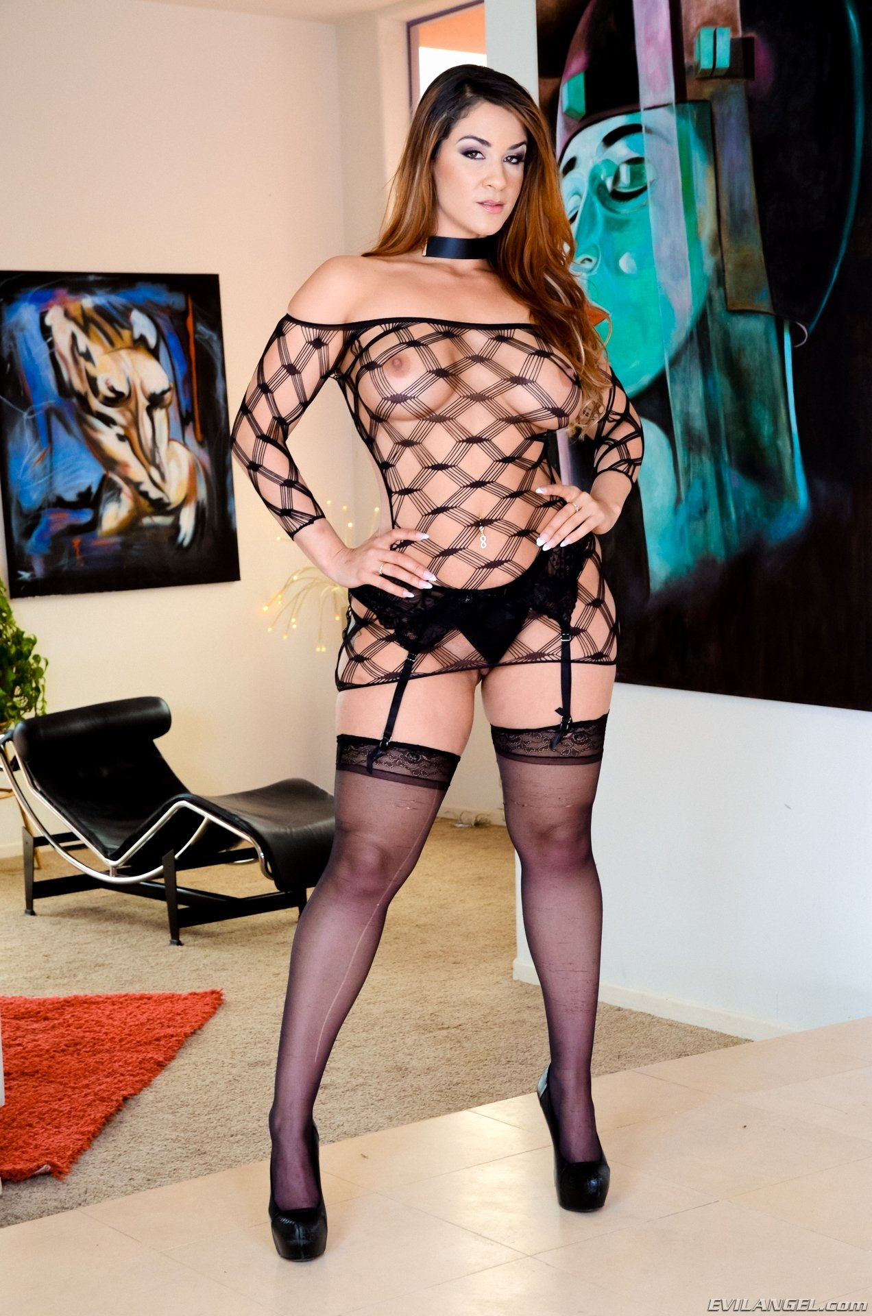 fishnet tights lingerie