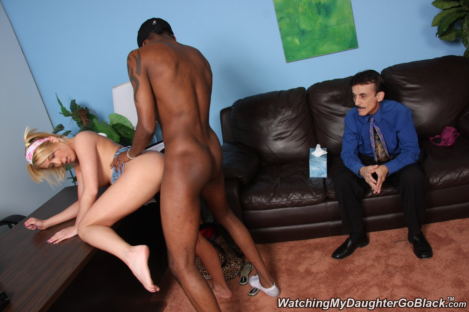 ashley blue interracial