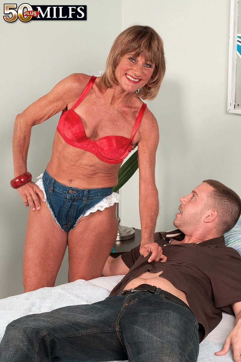 mature women showing their knickers