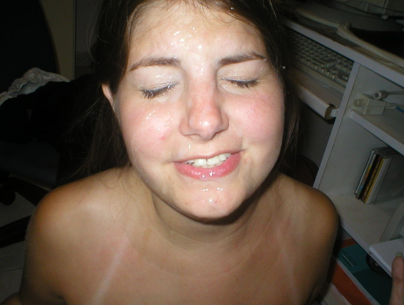 sexy amateur facial