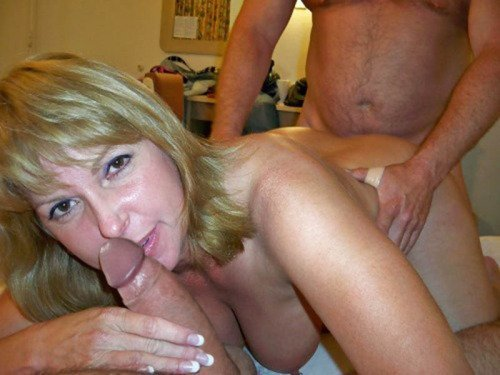 mature women with natural tits there