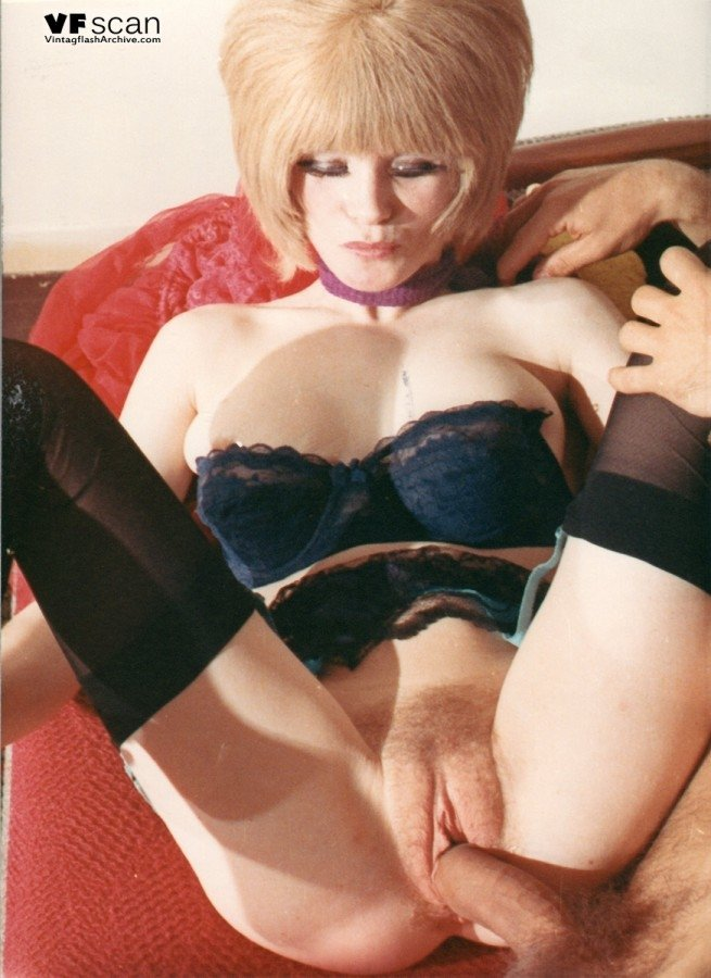Stockings and corset Caught on camera in sex act