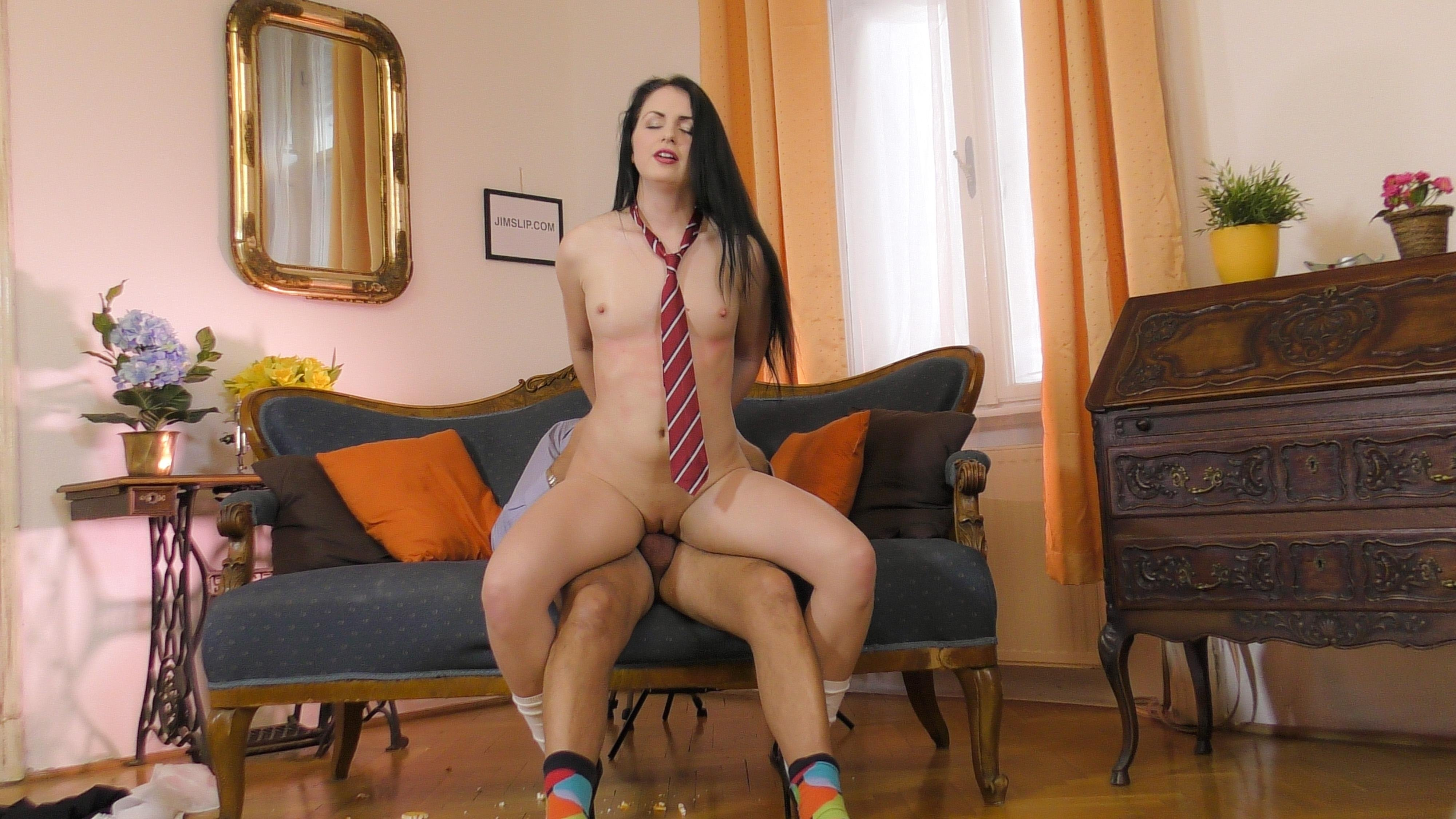 best of Cute Teen Avi Love takes on three guys to pay off a Poker Debt and gets Creampie and facial
