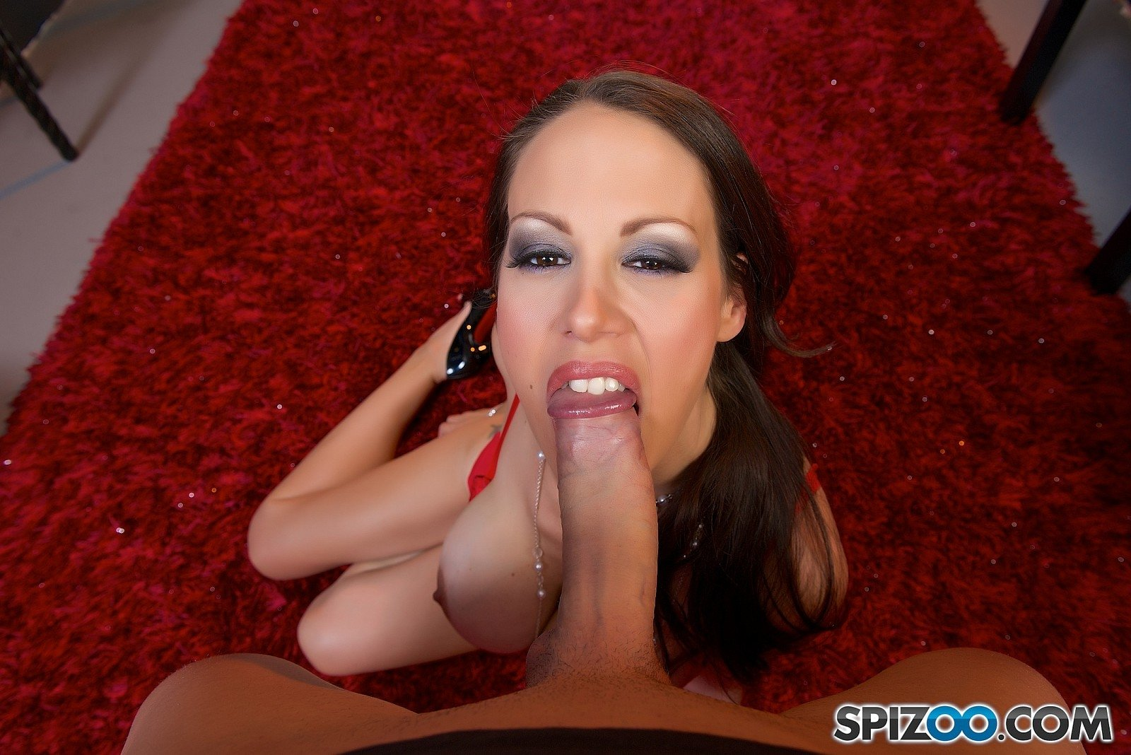 Initiating sexy girl in the art of blowjob gloryhole 17