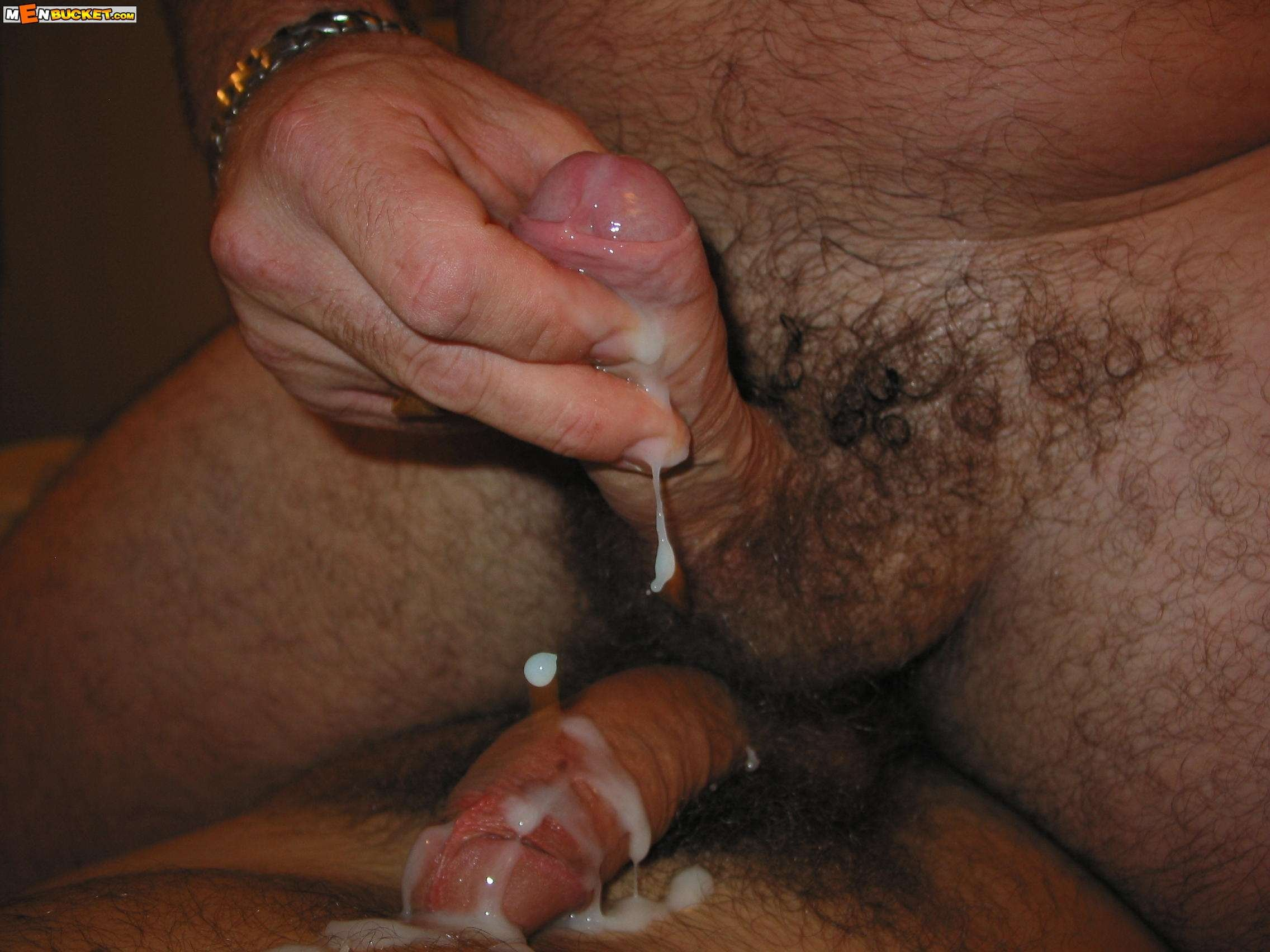 Dick ejaculation on girl hair — photo 5