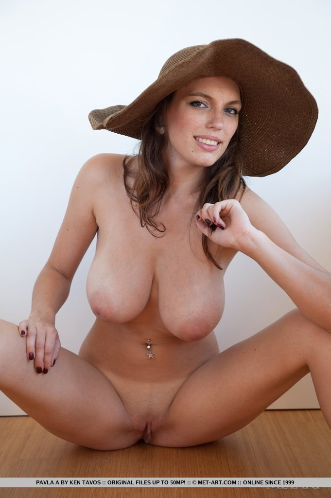 Women in the nude at home