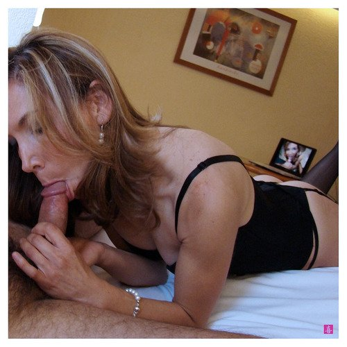 Wife massage husband waits