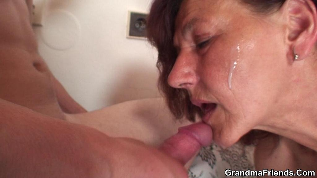Mature 30 plus fucked her son