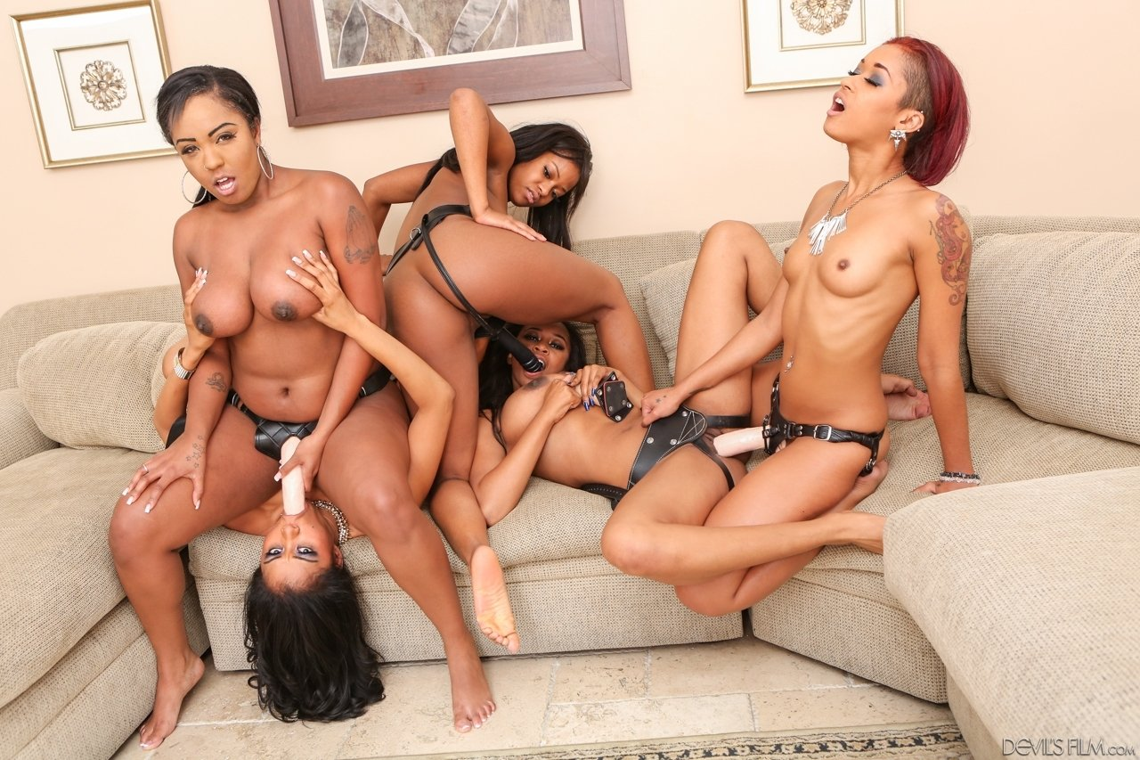 young ebony videos