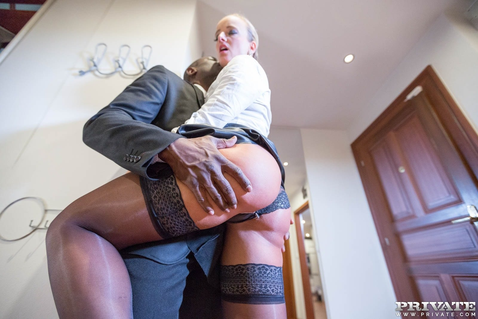 Blonde cheating bbc