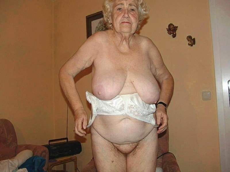big fat old granny