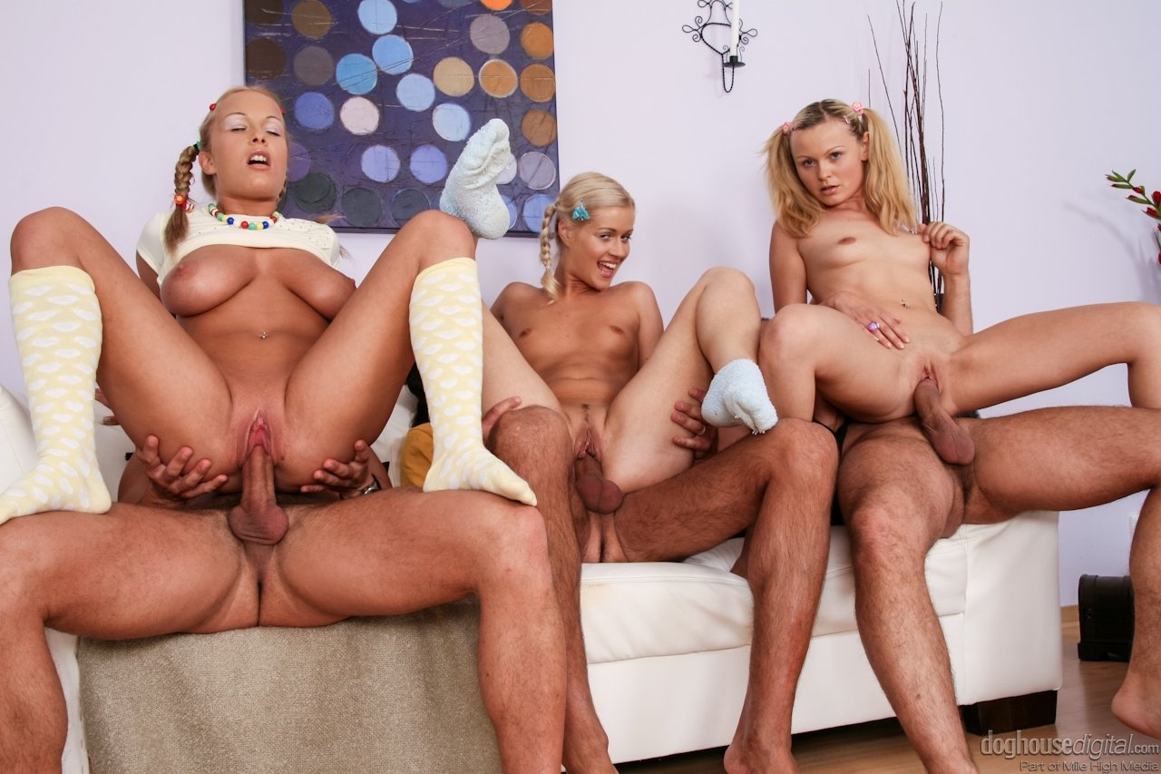 cuckold blonde interracial