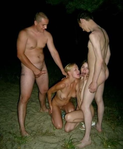 Foursome swingers and swappers