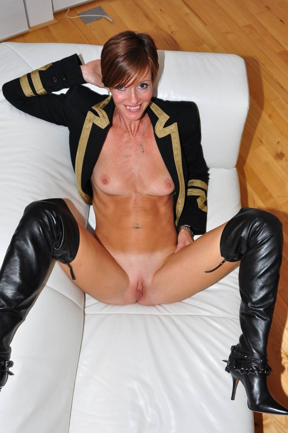 Amateur German Girl In Boots