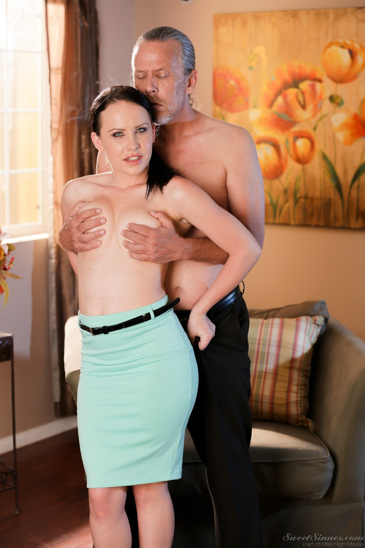 Cuckold cleans up his wife