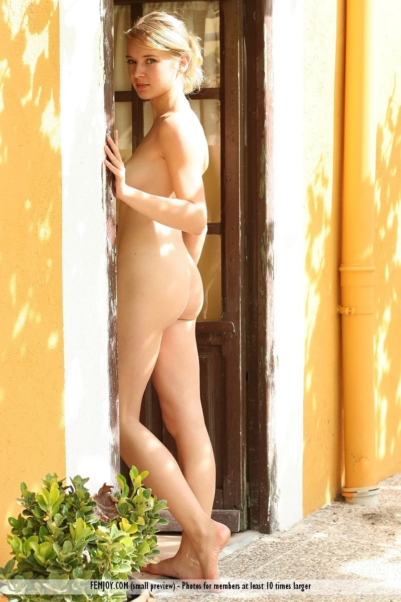 Teen smoking nude #1