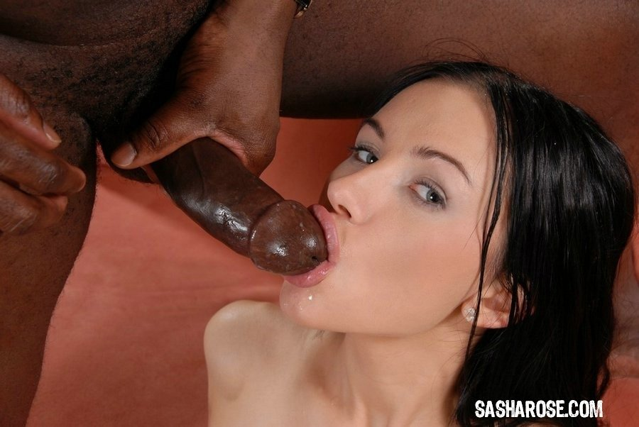 Watch Teen Sucks Black Schlong