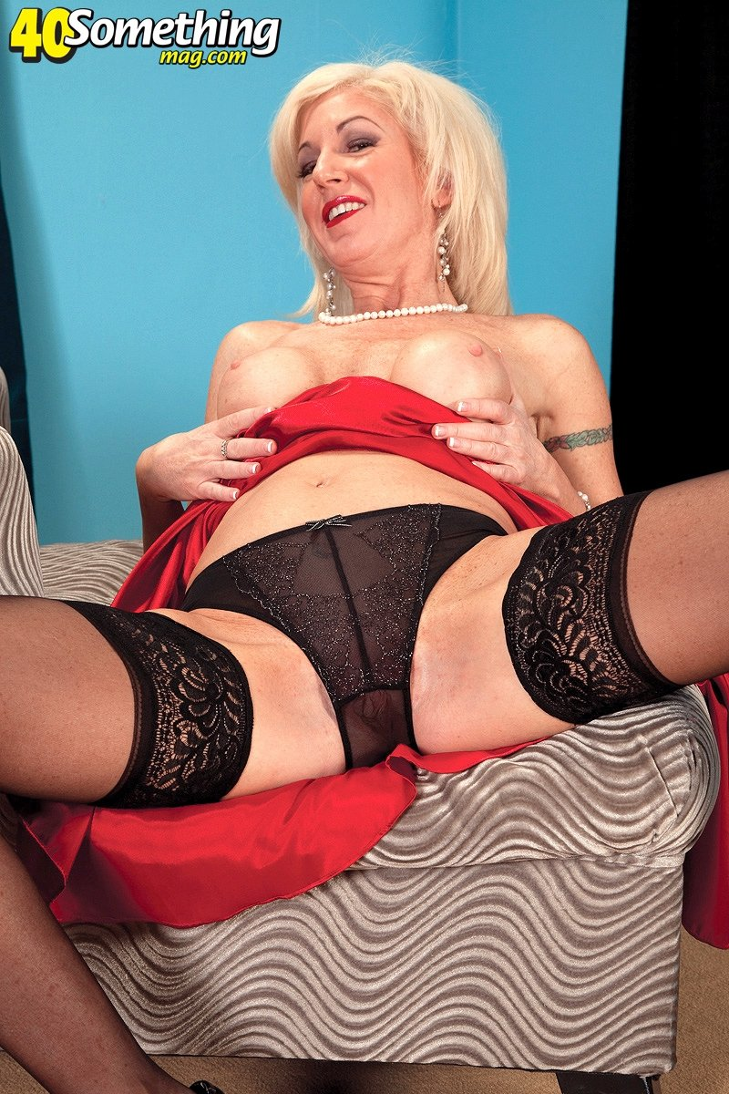 mature wife in suspenders add photo