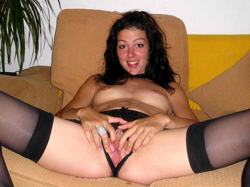 Amateur milf in panties #7