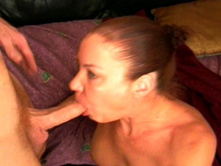 Girl home alone toying her asshole