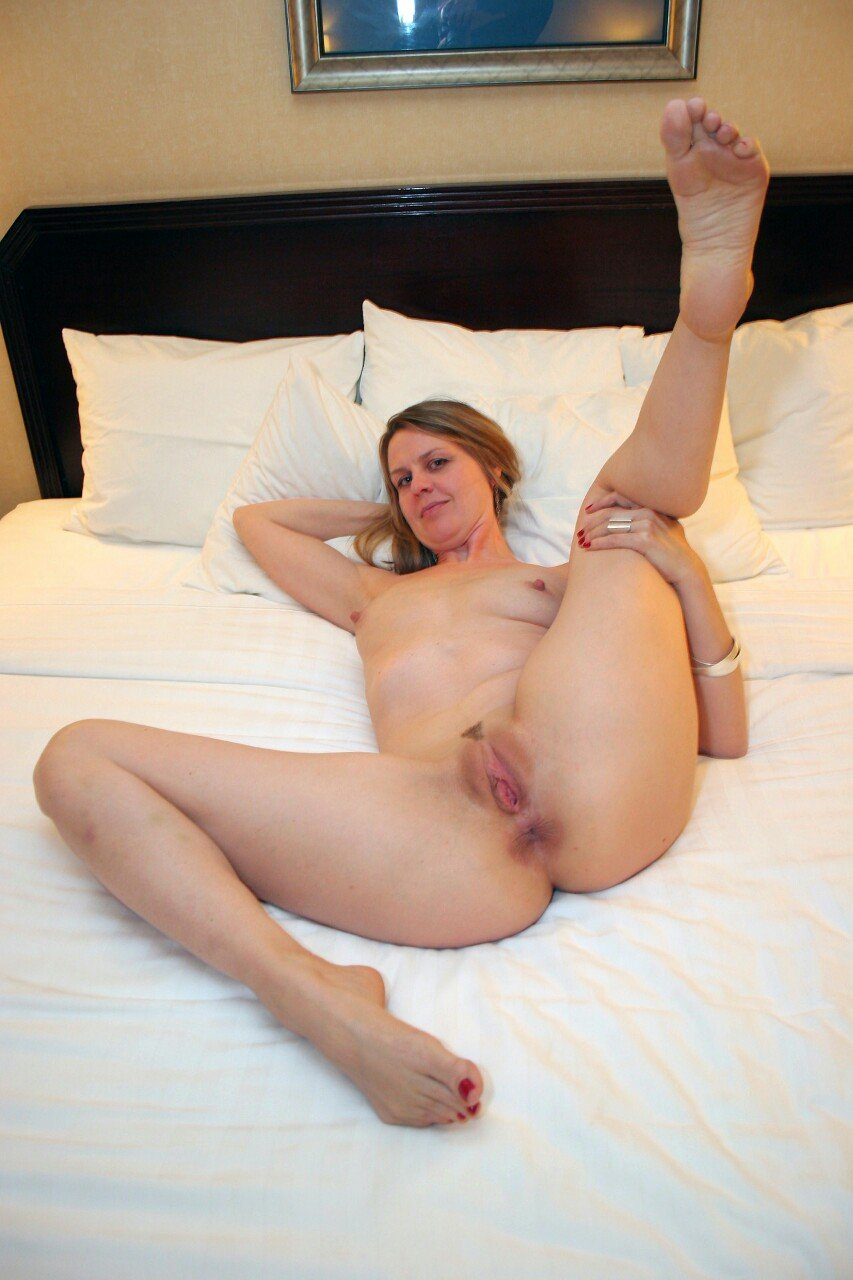 Naked Wife Legs Spread