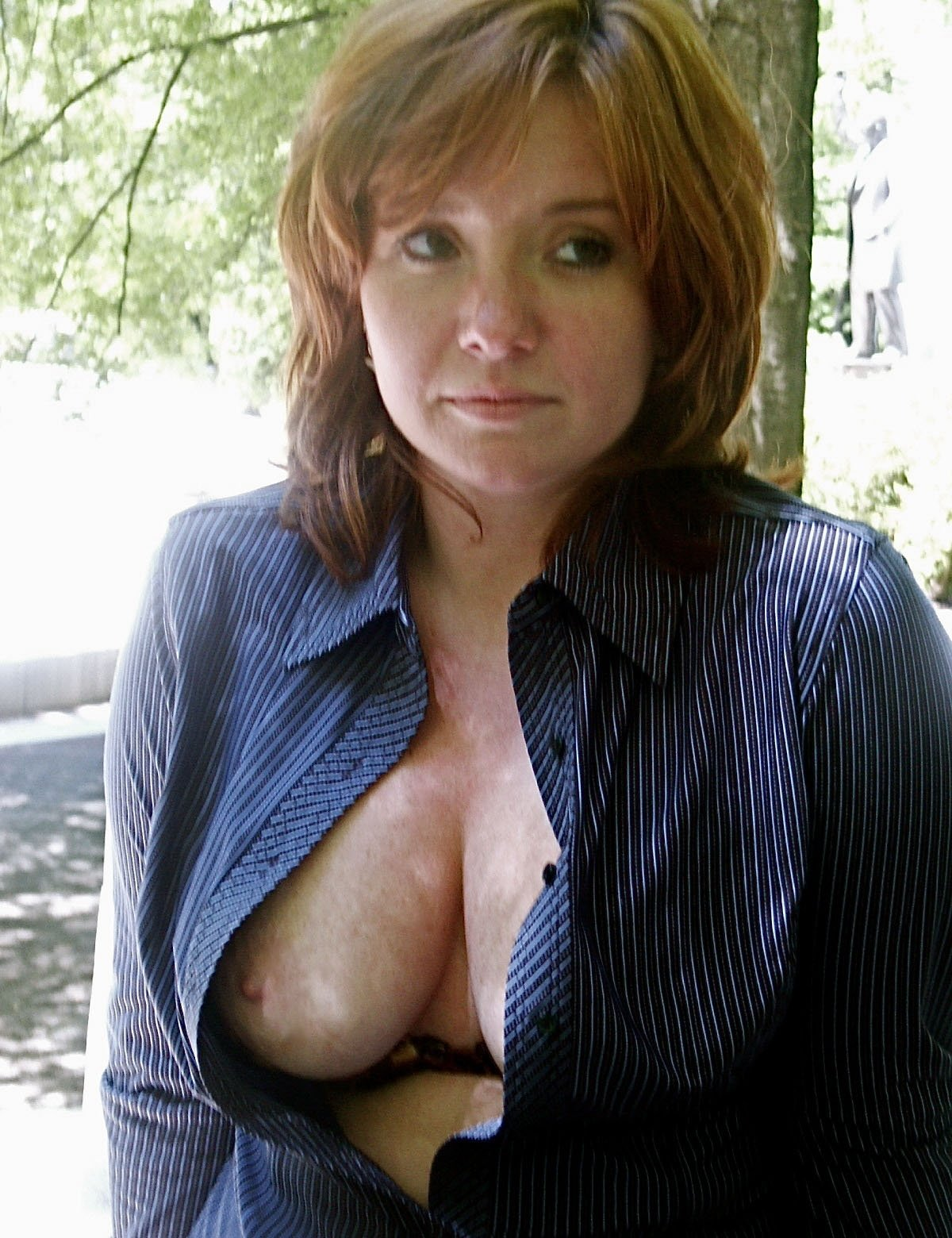 Huge mature tits lucky girl
