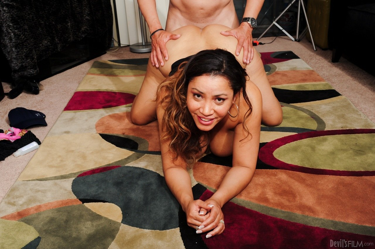 Showing wife at party