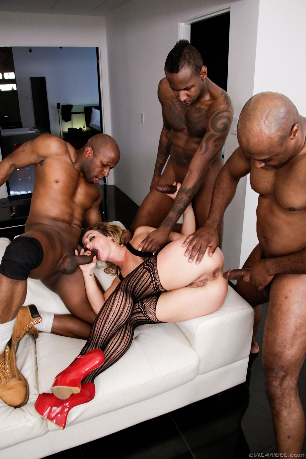 interracial wife party