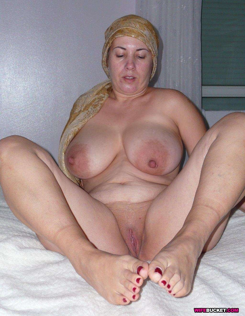 short blonde mature