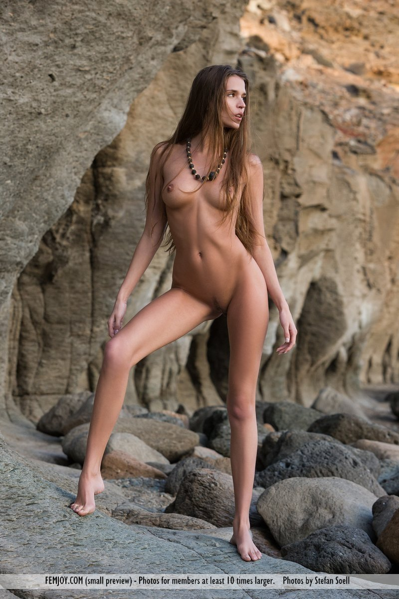 naked at the beach porn add photo