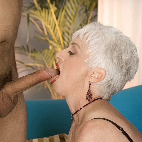 Old Lady Sucking Small Penis