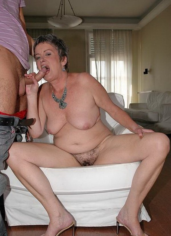 Granny what a hairy bush you have
