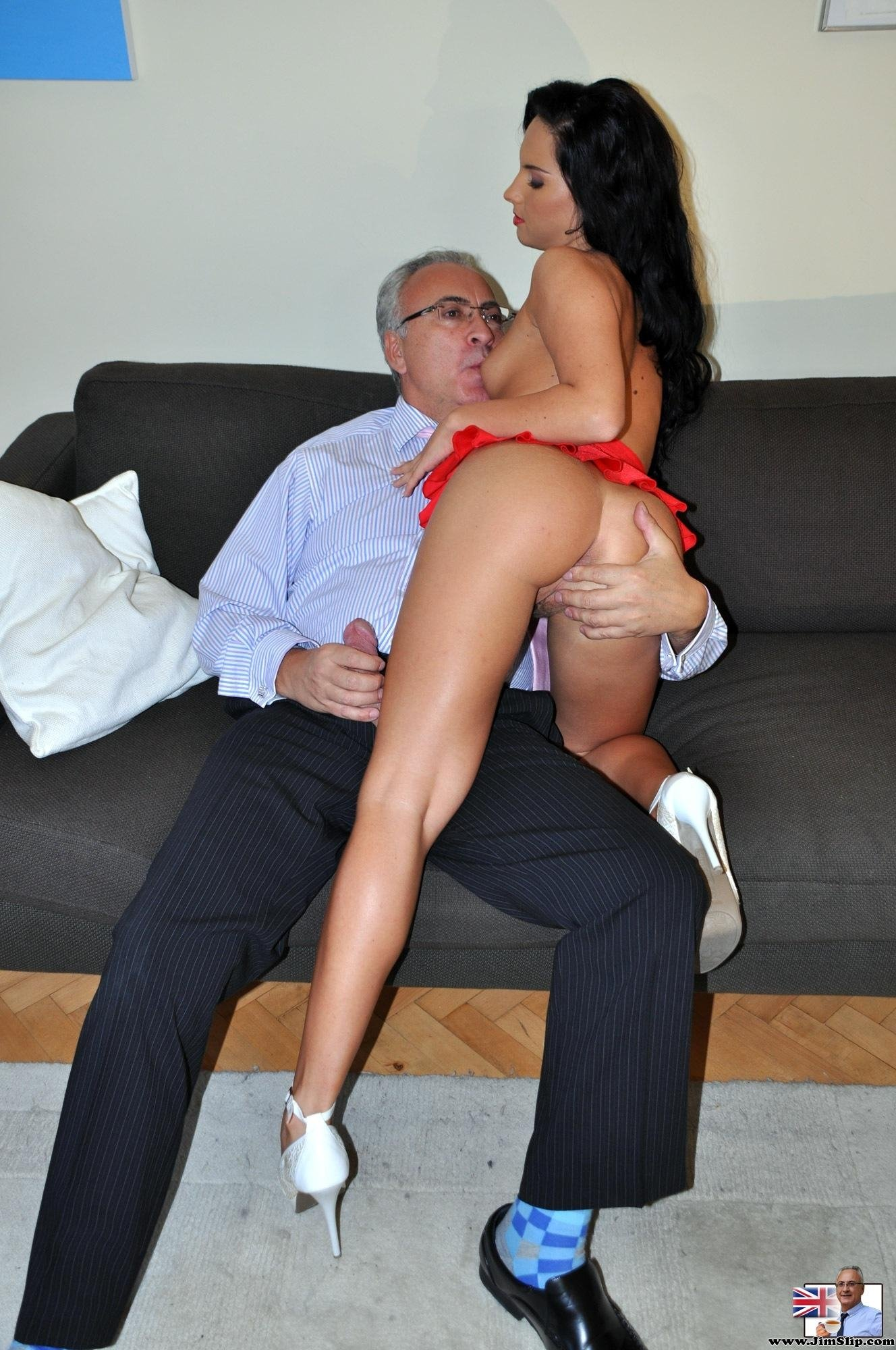 Amateur nervous cuckold