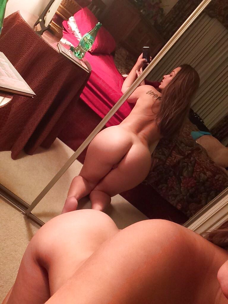 Bare ass naked wife