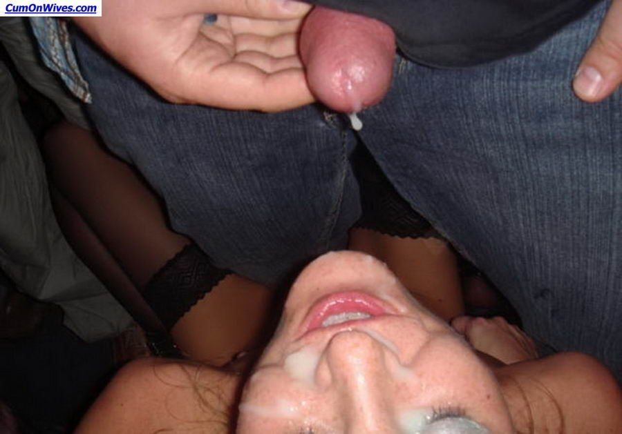 Inviting woman gets banged there