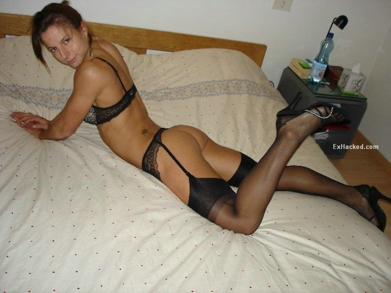 Amatuer Cum Stockings