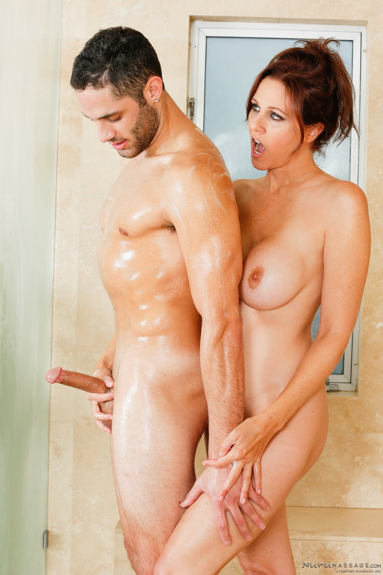 Big load in shower