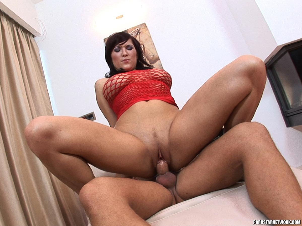 Receptionist rides cock