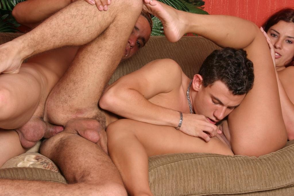 Gay guys having hot horny sex