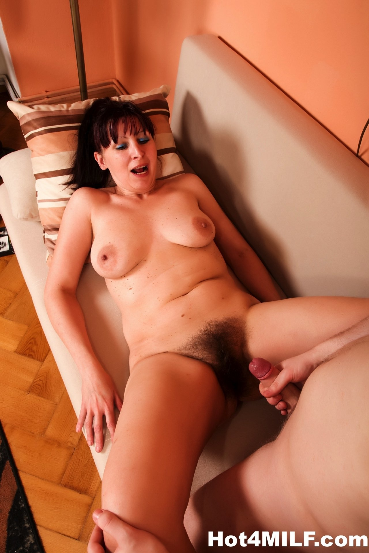 Wife takes dick extension