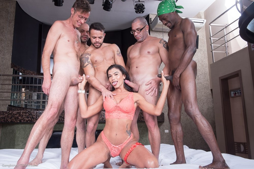 Lovely ts nicole in a crazy uk gangbang orgy private tgirls