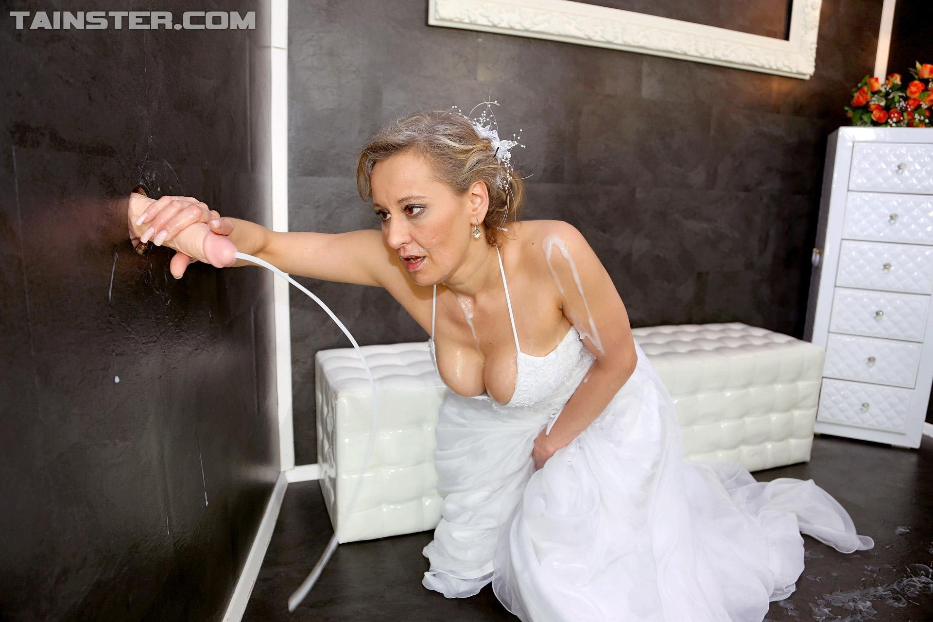 Oh No Bride Wears Dress Exposing Her Breast On Her Wedding Day