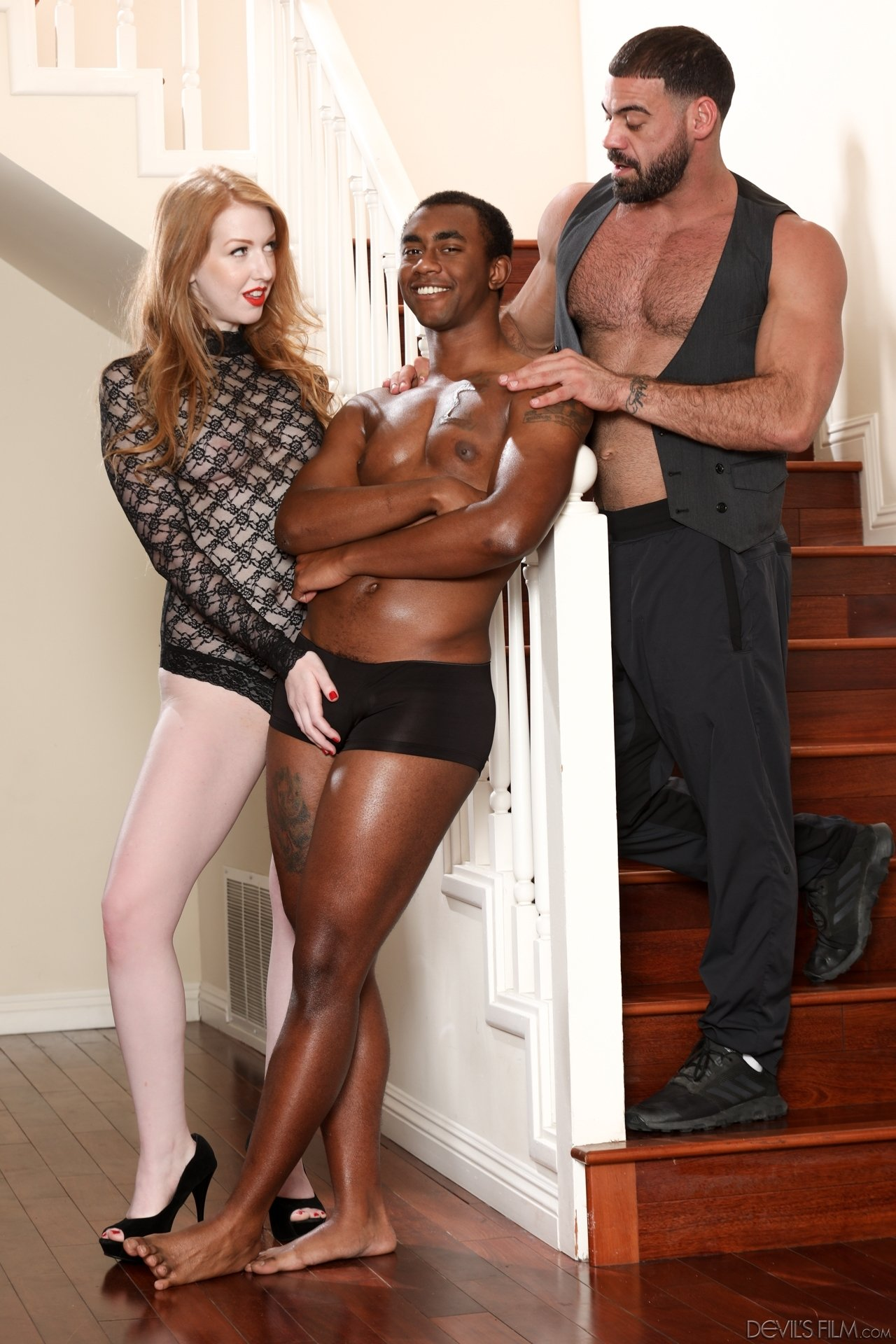 Black hubby interracial milf wife #1