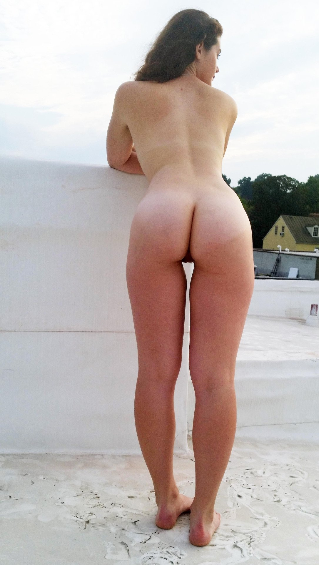 Old women at nude beach #17