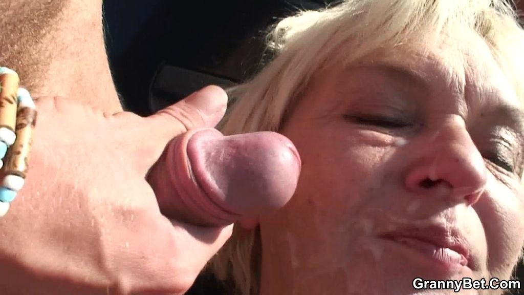 home granny anal