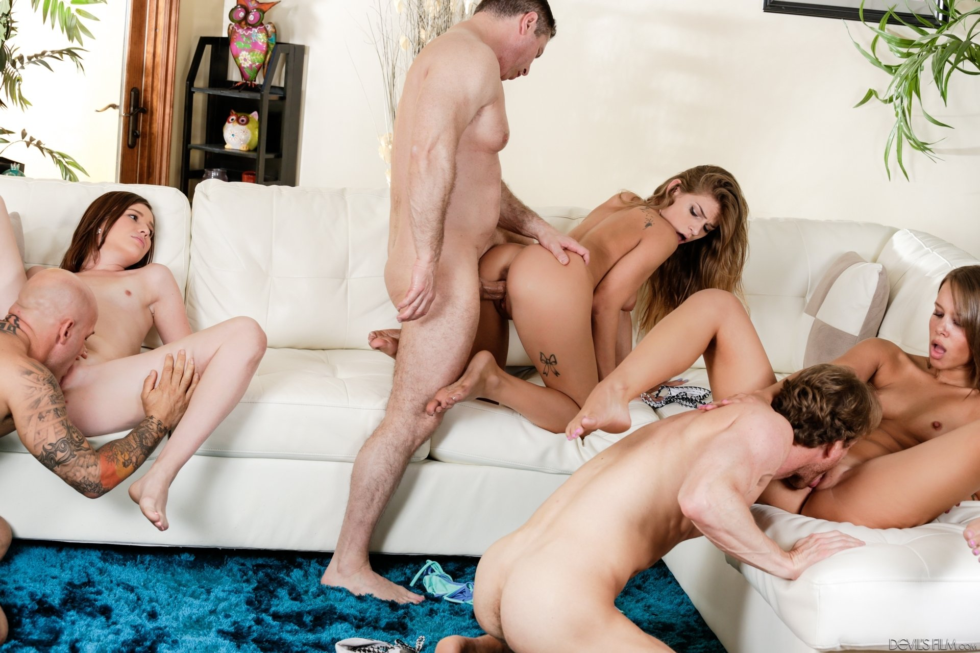Group porn mature Swinger party videos