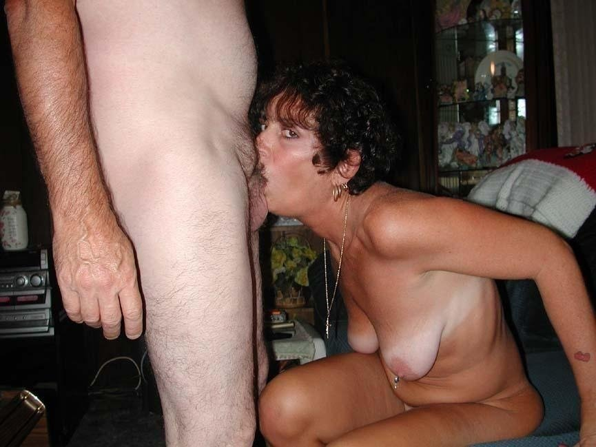 Force wife to let many huge dicks cum in her mouth