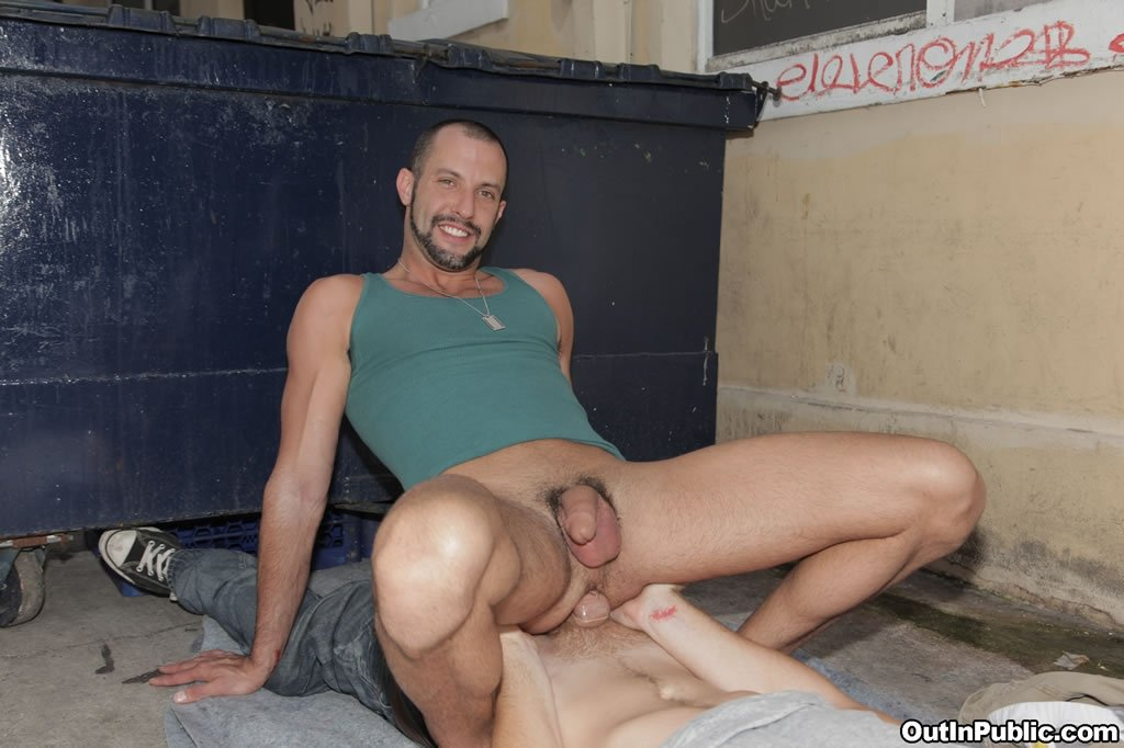 Gay Guys Fuck In The Shoe Rental Room Of A Bowling Alley