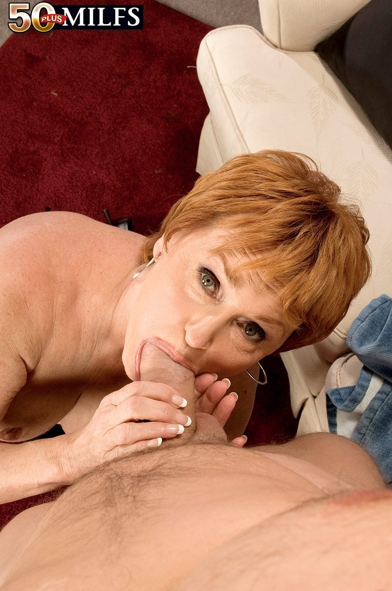 mature amateur at home there